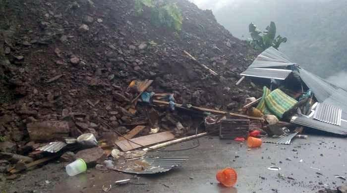 Three children killed in Rahim Yar Khan landslide