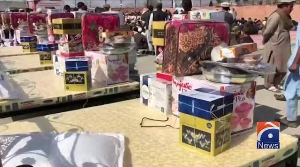 ضلع کرم میں 50جوڑوں کی  شادی کی اجتماعی تقریب کا اہتمام کیا گیا
