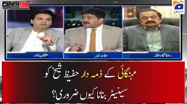 Mehngai ke Zimedar Hafeez Shaikh ko Senator Banana Kyun Zaroori?