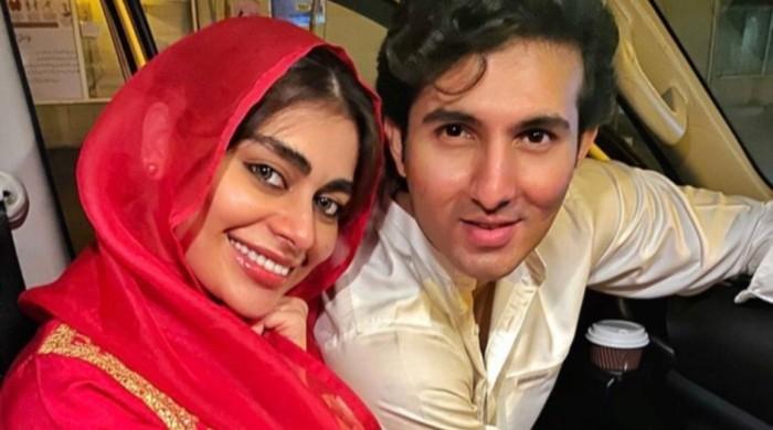Shahroz Sabzwari expresses gratitude to fans for bringing him and Sadaf Kanwal together