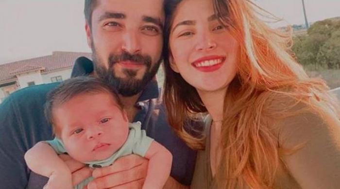 Hamza Ali Abbasi, Naimal Khawar's son steals hearts in latest snap