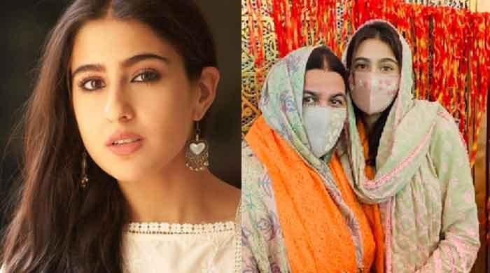 Sara Ali Khan visits Ajmer Sharif Dargah