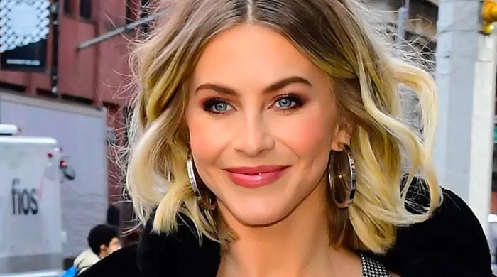 Dancer Julianne Hough shares throwback all-smile snap