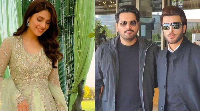 Ayeza Khan reveals Humayun Saeed, Imran Abbas are her 'favourite' actors