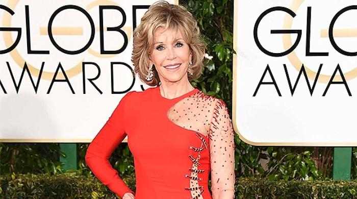 Jane Fonda tells Ellen DeGeneres philosophy behind re-wearing old clothes at Golden Globes
