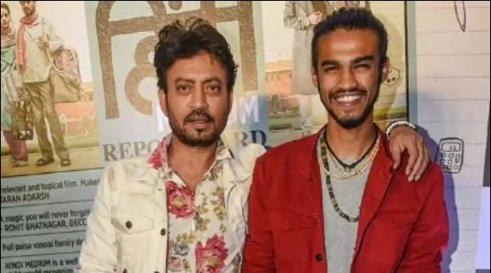 Irrfan Khan's son Babil expresses his love for Pakistani content