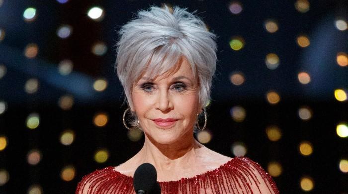 Jane Fonda receives lifetime achievement award at the Golden Globes