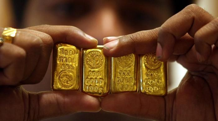 Gold sold at Rs108,200 per tola in Pakistan on March 1