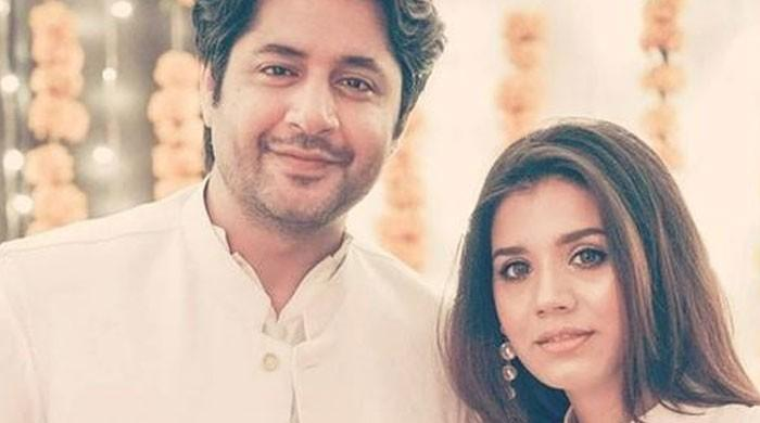 Imran Ashraf sends love to wife Kiran Imran on her birthday