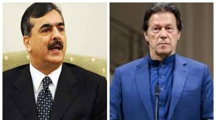 Yousaf Raza Gillani urges PM Imran Khan to vote for him in Senate elections