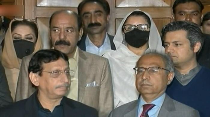 MQM-P, GDA and others assure PTI of their support in Senate elections