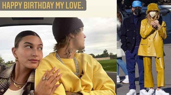 Hailey Bieber gushes over husband Justin, shares wedding snap with sweet birthday message
