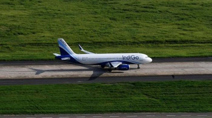 Indian plane makes emergency landing in Karachi after passenger dies on board