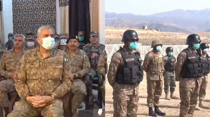 Army chief stresses vigilance against hostile efforts aimed at reversing Operation Radd ul Fasaad's gains