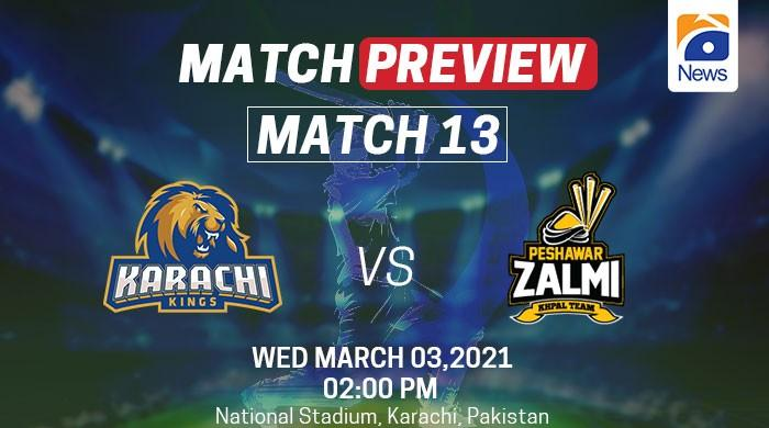 PSL 2021, Match preview: Table toppers Peshawar Zalmi take on Karachi Kings today