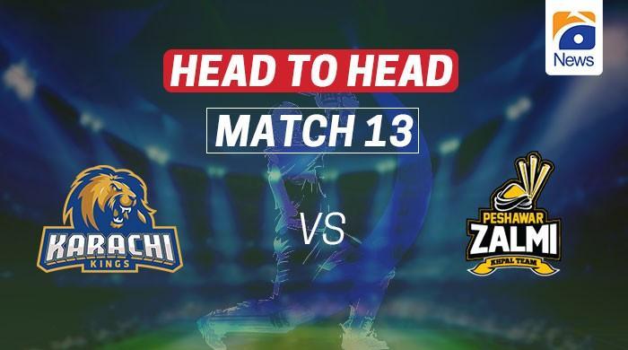 Karachi Kings vs Peshawar Zalmi: Head-to-head