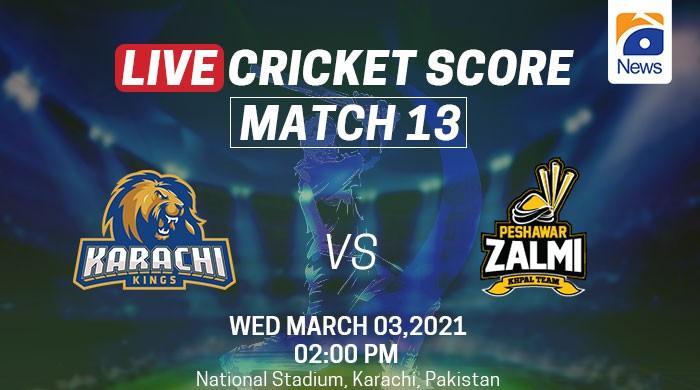 PSL 2021: Karachi Kings dethrone Peshawar Zalmi to go back on top of PSL standings