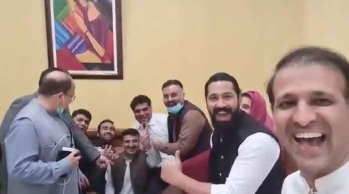 Watch: PTI MPAs mock PPP with 'Pawri Hori Hai' video