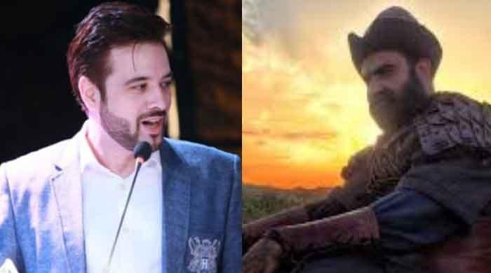 Mikaal Zulfiqar gives 'Ertugrul' actors a warm welcome