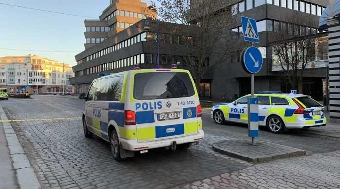 Suspected 'terrorist' stabbing attack leaves eight wounded in Sweden's Vetlanda