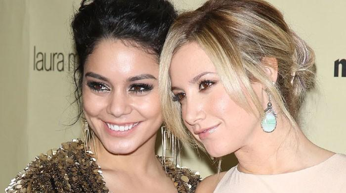 Pregnant Ashley Tisdale happy to see co-star Vanessa Hudgens