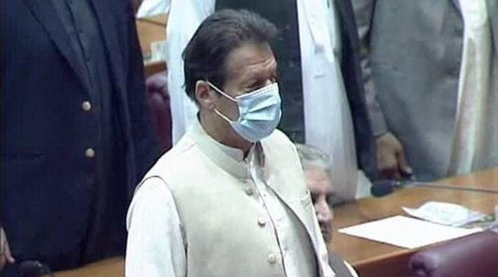 Prime Minister Imran Khan secures vote of confidence with Opposition absent