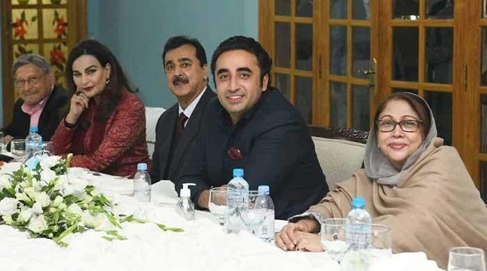 Bilawal expresses full confidence in opposition senators at dinner hosted at Zardari House