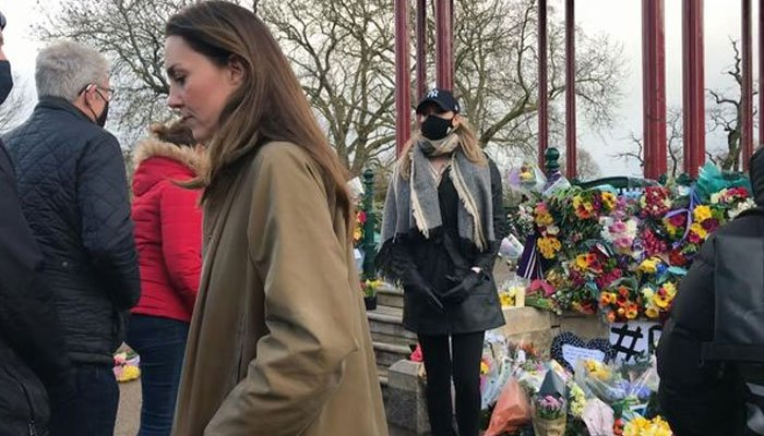 Kate Middleton visits Sarah Everards memorial: 'She wanted to pay her respects