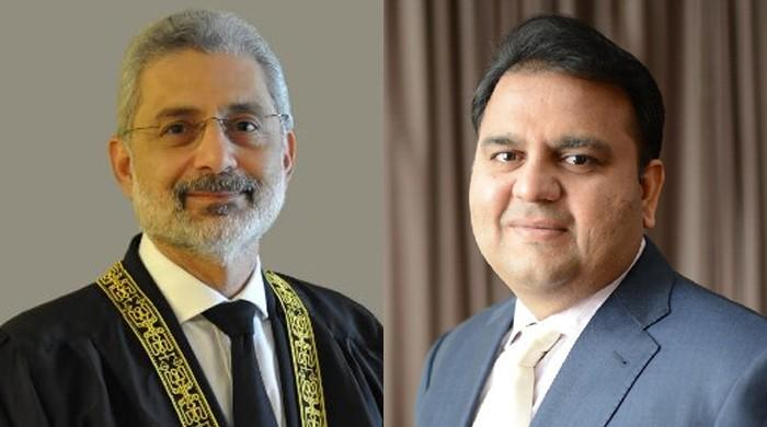 Justice Qazi Faez Isa's wife files contempt of court plea against Fawad Chaudhry