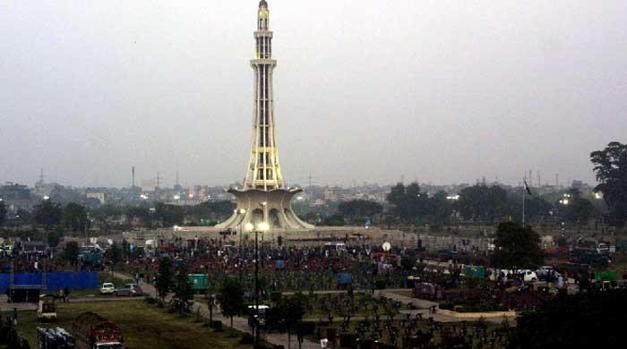 4 political parties owe Rs14.3 mn to PHA for holding jalsas at Lahore's Minar-e-Pakistan