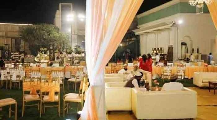 Sindh govt bans wedding functions from April 6 to curb coronavirus cases