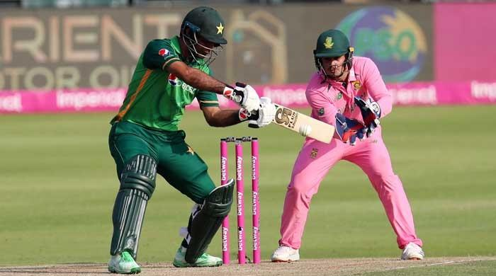 Pak vs SA: Fakhar Zaman brings up 5th ODI century in style with boundary