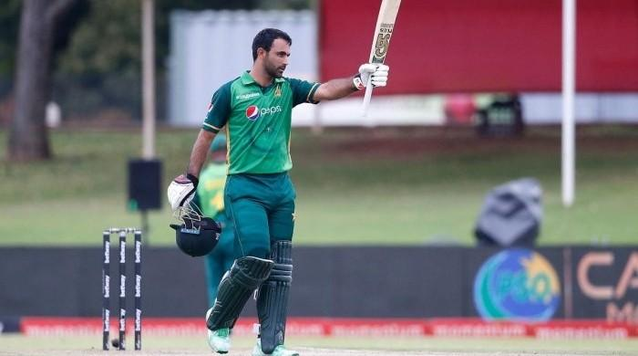 Fakhar Zaman battered South Africa with bat gifted by Mohammad Hafeez