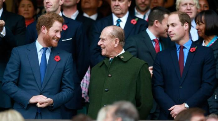 William and Harry were shielded by Prince Philip after Diana died