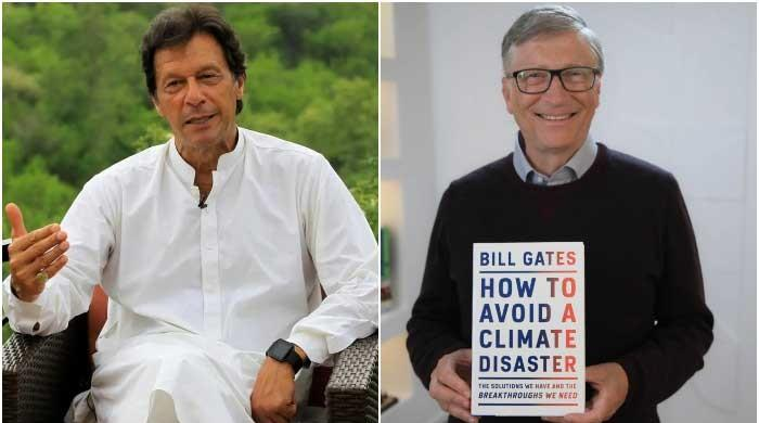 In letter to Bill Gates, PM Imran Khan calls for 'renewed partnership' to tackle climate change