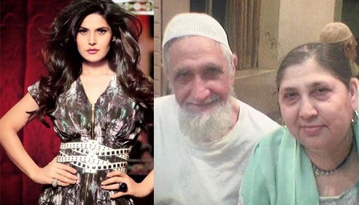 Khan zarine Zarine Khan