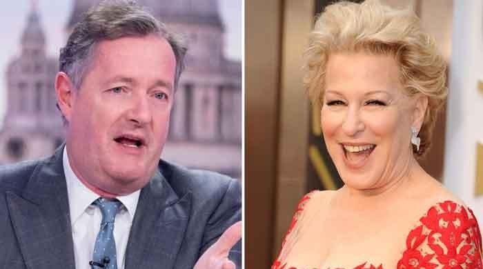 Piers Morgan reacts to Bette Midler's swipe amid criticism to Meghan Markle