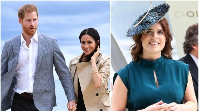 Princess Eugenie first royal to meet Prince Harry upon UK arrival