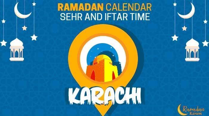 Ramadan calendar 2021: Sehri, iftar timings in Karachi
