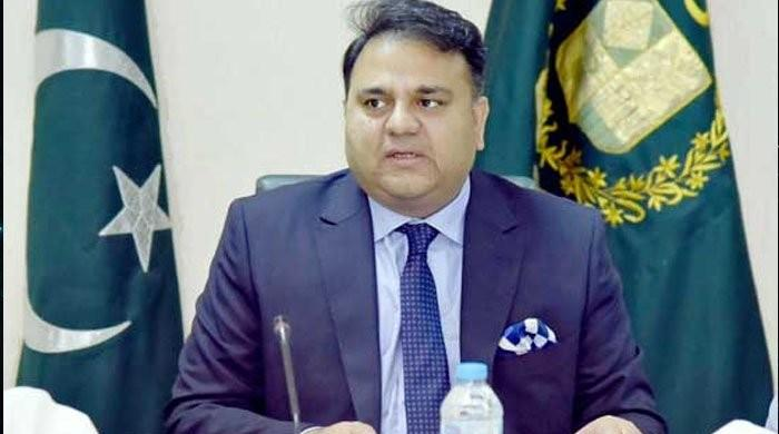 Fawad Chaudhry issues stern warning to protesters who thrashed police officers