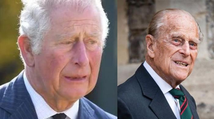 Prince Charles fights back tears after looking at Prince Philip fan tributes