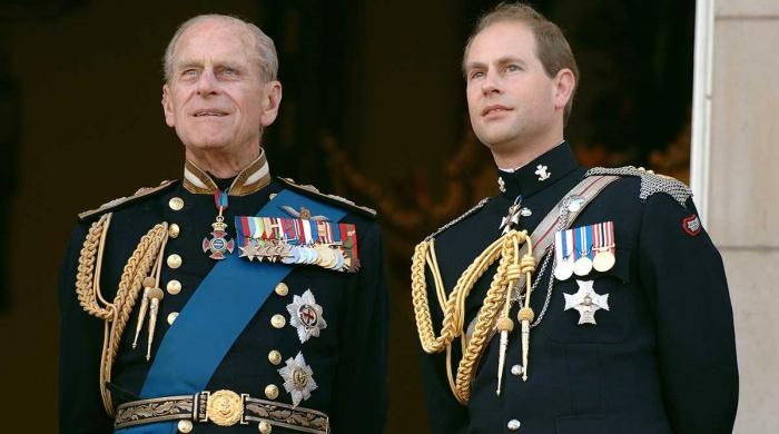 Prince Edward shares touching tribute to Prince Philip