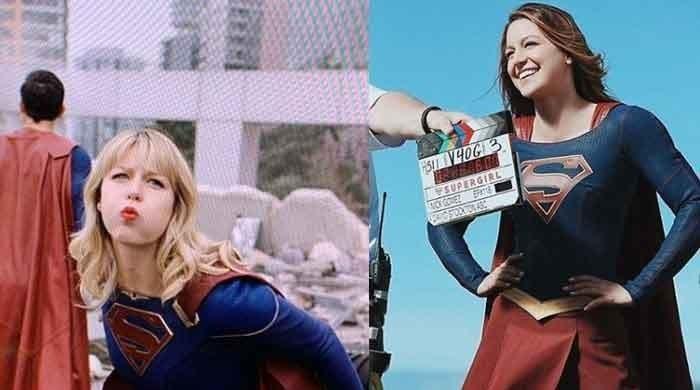 Melissa Benoist aka Supergirl celebrates husband Chris Wood's birthday