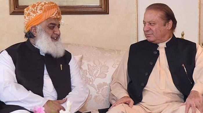 Fazl, Nawaz discuss next plan of action for PDM: sources