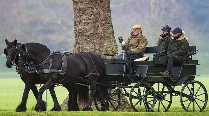 Prince Philip's fondness of carriage driving to be remembered at his funeral