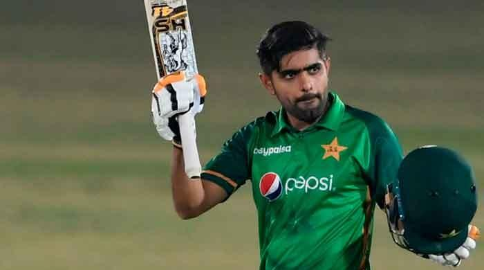 Watch: Babar Azam's late glance shot goes viral on social media