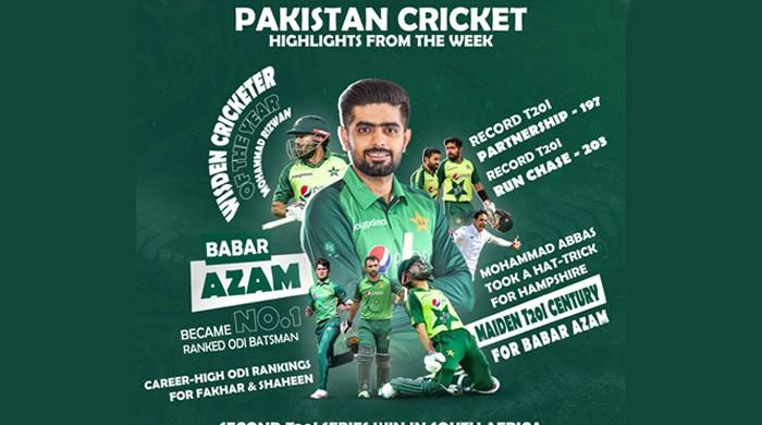 A recap of a phenomenal week for Pakistani cricket