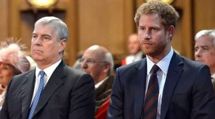 Prince Andrew was 'the only one' who sympathized with Prince Harry at the funeral