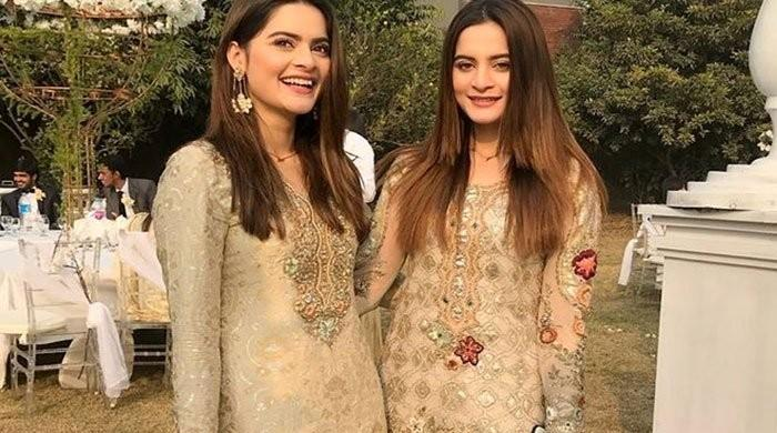 Minal Khan, Aiman Khan send tongues wagging in latest post