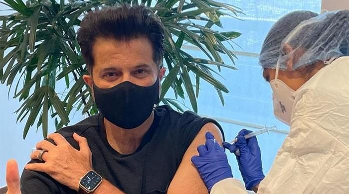 Anil Kapoor gets second jab of Covid-19 vaccine